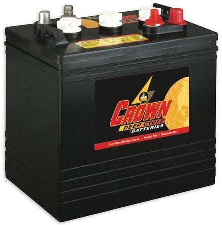 crown CR-205 golf cart battery