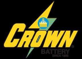 crown batteries logo